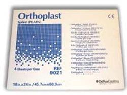 Orthoplast II Splint Material Plain 18 X24 X1/8 (Case/4)