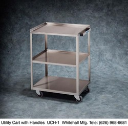 Category: Dropship Medical, SKU #UCH1, Title: Utility Cart Assembled w/Handle