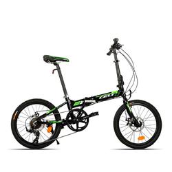 Category: Dropship Cycling, SKU #1015638, Title: 20 Inch Folding Bike Bicycle Mini Foldable Bike Aluminum Alloy Frame Variable Speed