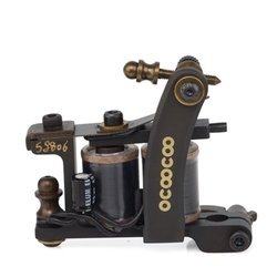 Category: Dropship Tattoos & Body Art, SKU #1095898, Title: OCOOCOO S8806 T650A 9000 rev / min Master Professional Carved Copper Shader Tattoo Machine