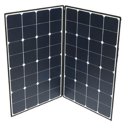 Category: Dropship Arduino Compatible Scm & Diy Kits, SKU #1107909, Title: Elfeland® SP-22 160W Folding Portable Solar Panel With A Connector To Two MC4