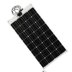 Category: Dropship Arduino Compatible Scm & Diy Kits, SKU #1127942, Title: Elfeland® SP-7 80W 12V ETFT High Effefficiency Flexible Monocrystalline Solar Panel
