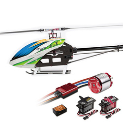 Category: Dropship Remote Control Toys, SKU #1154882, Title: ALIGN T-REX 500X Dominator 6CH  3D Flying RC Helicopter Super Combo With Brushless 1600KV Motor ESC Digital Servos