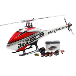 Category: Dropship Remote Control Toys, SKU #1177555, Title: ALZRC Devil 505 FAST RC Helicopter Super Combo With Hobbywing 120A V4 Brushless ESC