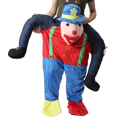 Category: Dropship Party Supplies, SKU #1204091, Title: Hallowen Christmas Shoulder Carry Me Buddy Ride On A Shoulder Piggy Back Piggy Ride-On Fancy Dress Adult Party Costume Outfit