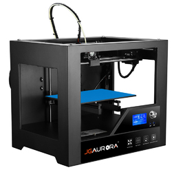 Category: Dropship Printers, SKU #1221140, Title: JGAURORA® Z-63S 3D Printer 280*180*180mm Printing Size 1.75mm 0.4mm Nozzle With LCD screen Support Operation Interface in English