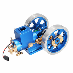 Category: Dropship Education & Reference, SKU #1239802, Title: In Stock STEM Stirling Engine Full Metal Combustion Engine Hit & Miss Gas Model Engine Gift Collection Toy
