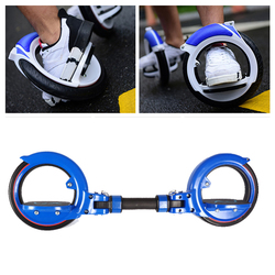 Category: Dropship Outdoor Recreation, SKU #1249213, Title: 200kg Load-bearing PU Two Wheel Scooter Extreme Sport Drift Skateboard Balancing Scooter For Adult
