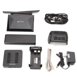 Category: Dropship Media Players, SKU #1271255, Title: TPCAST Wireless Adapter Upgrade Set Helmet virtual Wireless VR HMD For HTC Vive VR Glasses