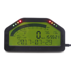 Category: Dropship Motorcycle, SKU #1272156, Title: Dash Race LCD Display Full Sensor Kit Dashboard Screen Rally Gauge With bluetooth Function
