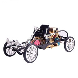 Category: Dropship School & Office Supplies, SKU #1276394, Title: Teching Car Model Single Cylinder Engine Aluminum Alloy Model Gift Collection Toys