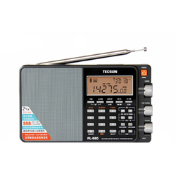 Category: Dropship Media Players, SKU #1281504, Title: Tecsun PL-880 Portable Stereo Full Band Radio Receiver with LW/SW/MW SSB PLL Modes FM 64-108mHz