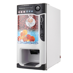 Category: Dropship Garden/outdoor Decor, SKU #1292823, Title: Vending Coffee Machine with 3 Hot and 3 Cold Drinks Selections Coin Acceptor