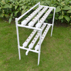 Category: Dropship Lab & Scientific Supplies, SKU #1302017, Title: 54 Holes Vertical Hydroponic Piping Site Grow Kit Deep Water Culture Vegetable Planting Box System