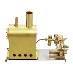 Category: Dropship Education & Reference, SKU #1311118, Title: Microcosm M2C Mini Steam Boiler with Twin Cylinder Marine Steam Engine Stirling Engine Model