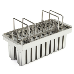 Category: Dropship Hardware & Accessories, SKU #1337018, Title: 20Pcs Stainless Steel Molds Frozen Ice Cream Pop Popsicle Holder Maker +Sticks Mould