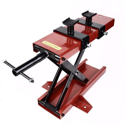 Category: Dropship Motorcycle, SKU #1344318, Title: 1100 Lb Mini Scissor Lift Jack ATV Motorcycle Dirt Bike Scooter Crank Stand