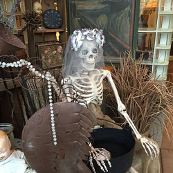 Category: Dropship Party Supplies, SKU #1346446, Title: 170cm Halloween Skeleton Poseable Decorations Life Size Party Decoration Gift PVC