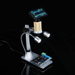 Category: Dropship Lab & Scientific Supplies, SKU #1346658, Title: 10X-300X Digital Inspection Microscope PCB Repair HDMI USB Full HD 3.0MP Camera