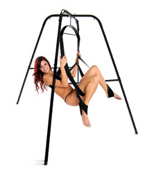 Category: Dropship Adults Only, SKU #AC469, Title: Trinity Ultimate Sex Swing Stand
