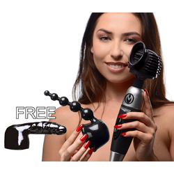 Category: Dropship New Arrivals, SKU #AF693, Title: Ultimate Thundergasm Wand Kit with Free Attachment