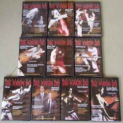 Category: Dropship Books & Videos, SKU #VD7116A, Title: Mastering Tae Kwon Do 10 DVD + 2 Book Set