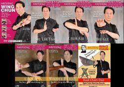 Category: Dropship Books & Videos, SKU #VD8079P, Title: 7 DVD SET Mastering Wing Chun the Keys Ip Man Kung Fu Grandmaster Samuel Kwok