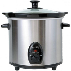 Category: Dropship Cookware Misc, SKU #SC-130S, Title: Brentwood 3 QT Slow Cooker