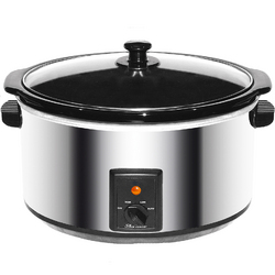 Category: Dropship Cookware Misc, SKU #SC-170S, Title: Brentwood 8.0 Quart Slow Cooker Stainless Steel