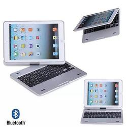 Category: Dropship Case, SKU #2054194821, Title: iPad Air or Mini Swiveling Hard Case With Bluetooth Keyboard
