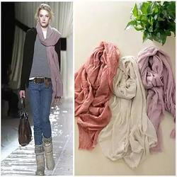 Category: Dropship Scarf, SKU #2104921477, Title: POETRY IN MOTION Modern Vintage Shawl Scarves