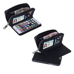 Category: Dropship Purse, SKU #440609144, Title: iPhone 6/6 Plus Clutch Purse with Detachable Phone Case