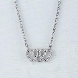 Category: Dropship Pendant, SKU #448914016, Title: Love Is On The Roll Pendant & Chain
