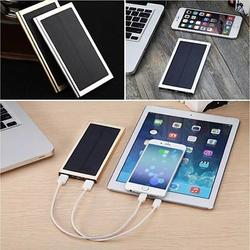 Category: Dropship Power Bank, SKU #5352036613, Title: Slim Giant Solar Power Extender For All Gadgets with 2 USB Ports