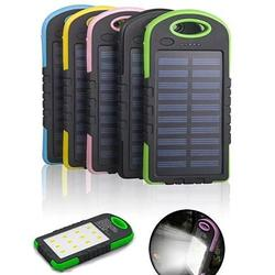 Category: Dropship Power Bank, SKU #5355705029, Title: PowerGLO Echo Friendly Solar Charger With 12 Bright LED Lamps