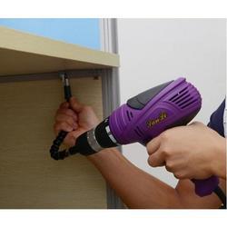 Category: Dropship Kitchen Tool, SKU #5887053765, Title: Flex Drill Adapter A Handyman's 2Pc Tool