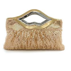 Category: Dropship Purse, SKU #6166395397, Title: Big Lips Banquet Clutch In 4 Shiny And Matt Colors