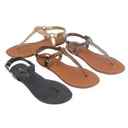 Category: Dropship Sandals, SKU #811394692, Title: Greek Chic Knitted Sandals