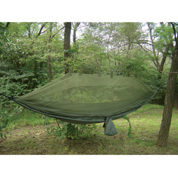 Category: Dropship Tactical Gear, SKU #SP 61660, Title: Jungle Hammock w/ Mosquito Net