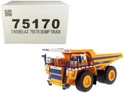 Category: Dropship Die Cast Model Cars And Trucks, SKU #75170, Title: BelAZ 75170 Mining Dump Truck 1/50 Diecast Model by Diecast Masters