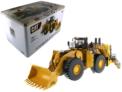 Category: Dropship Die Cast Model Cars And Trucks, SKU #85505, Title: CAT Caterpillar 994K Wheel Loader with Rock Bucket and Operator High Line Series 1/50 Diecast Model  by Diecast Masters