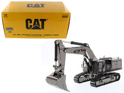 Category: Dropship Die Cast Model Cars And Trucks, SKU #85547, Title: CAT Caterpillar 390F L Hydraulic Tracked Excavator Gunmetal