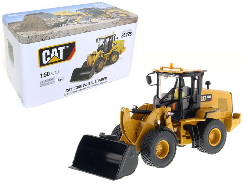 Cat CATERPILLAR 938K chargeuse à roues W interchangeables outils de travail Seau & Fork
