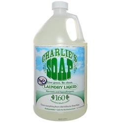 Category: Dropship Eco-home, SKU #BWC62021, Title: Charlies Soap Laundry Liquid Gel (4x128OZ )