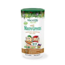 Category: Dropship For Baby/health, SKU #ECW1064583, Title: MacroLife Naturals Jr. Macro Coco-Greens for Kids Chocolate 14 Oz