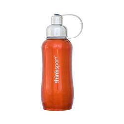 Category: Dropship Grocery/drinks/drink Bottles, SKU #ECW1205574, Title: Thinksport Stainless Steel Sports Bottle Orange (1x25 Oz)