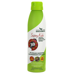 Category: Dropship For Baby/skin Care, SKU #ECW1524057, Title: Goddess Garden Organic Sunscreen Sunny Kids Natural SPF 30 Continuous Spray (1x6 Oz)