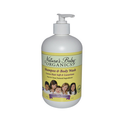 Category: Dropship For Baby/bath Time, SKU #ECW290486, Title: Nature's Baby Organics Shampoo and Body Wash Lavender Chamomile (16 fl Oz)