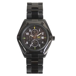 Category: Dropship Apparel, SKU #4009552, Title: UZI Ballistic Chronograph Tritium Watch-Blck Dial Zulu Strap