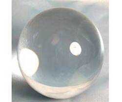 Category: Dropship Occult & Magical, SKU #FC200, Title: 200mm Clear crystal ball